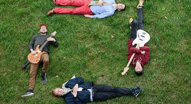 EIN QUADRAT ARTETT – junger funkiger und tanzbarer Jazz aus Dresden live im JuZ Leer
