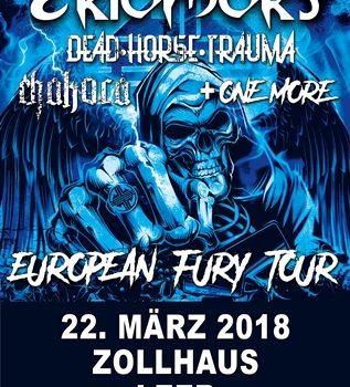 JuZ Leer und Zollhaus Leer präsentieren EKTOMORF – Harter Metal aus Ungarn live im Zollhaus