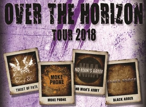 Over The Horizon Tour 2018 – vier Bands live im JuZ Leer